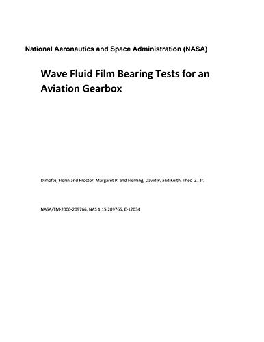 (Wave Fluid Film Bearing Tests for an Aviation)