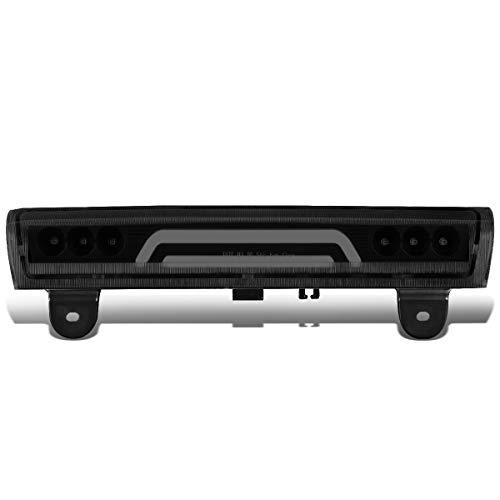 (DNA Motoring 3BL-GMCD00-3D-LED-BK-SM Rear Center High Mount Third 3rd Tail Brake Light)