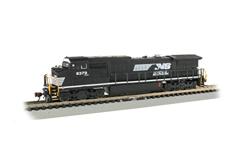 (GE Dash 8-40CW DCC Sound Value Econami Equipped Locomotive - Norfolk Southern #8379 (Thoroughbred) - N Scale)