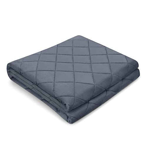 Zodae Weighted Blanket 2.0 for Adult and Kids, 100% Breathable Cotton with Premium Glass Beads (41