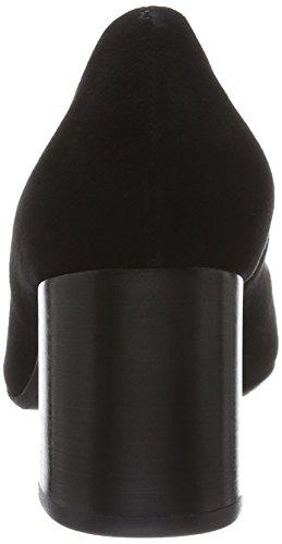 Suede Negro schwarz Para Tacón Lack Zapatos De Cerrada 554 Kaiser Mujer Peter Parme Con Punta w7vqRxH