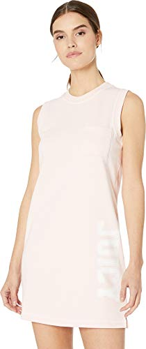 Juicy Couture Women's Juicy Logo Terry Tank Dress Cali Sunrise Medium ()