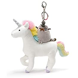 Pusheen Fancy Unicorn Keychain Clip 4