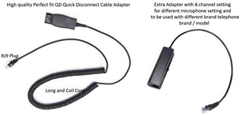 Quick Disconnect Kabel Zu Rj9 Stecker Adapter Ersatz Qd Elektronik