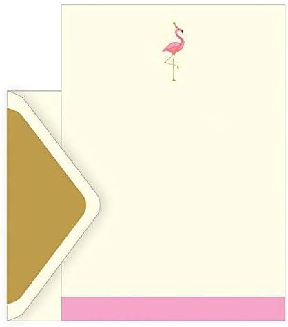 El arte archivo caja diseño de flamenco – Juego de 10 sobres, 10 ...