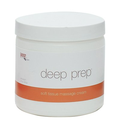 Deep Prep Massage Cream - cream, 15 oz jar