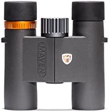 Maven C2 10X28mm Compact Binoculars Gray Orange