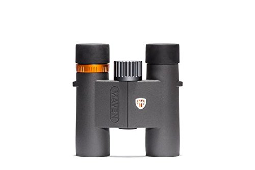 Maven C2 10X28mm Compact Binoculars Gray/Orange