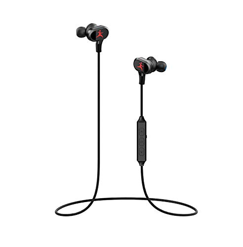 Bluetooth Headphones, Wireless Earbuds Sport in-Ear Sweatproof Earphones with Mic(Bluetooth 4.1, aptx, Stereo Bass,8 Hours Playing Time,Secure Fit Design and Magnetic Switch)