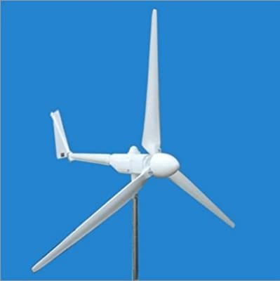 ALEKO® WG3KW Wind Turbine, Wind and Solar Electrical Charge Controller and Power Inverter
