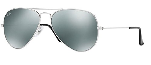 Ray Ban RB3025 W3275 55M Silver/ Gray Mirror - Mirror Ray Bans