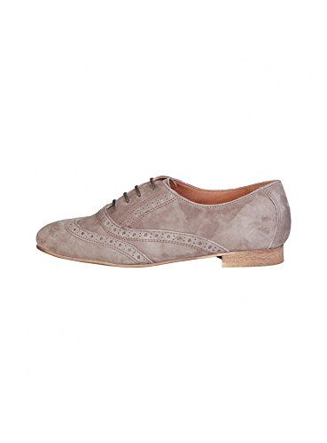 Pierre Cardin Damen 1140204 Echtes Leder Oxford In Brogue Braun