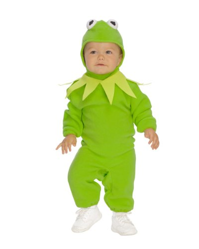 Kermit the Frog Infant (The Muppets Kermit Toddler Costumes)