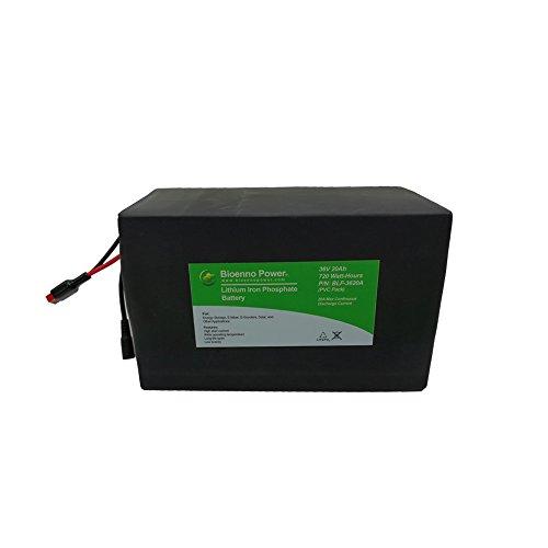Bioenno Power 36V, 20Ah LFP Battery (PVC, BLF-3620W)