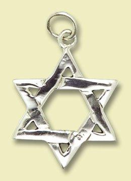 Amulette étoile de David