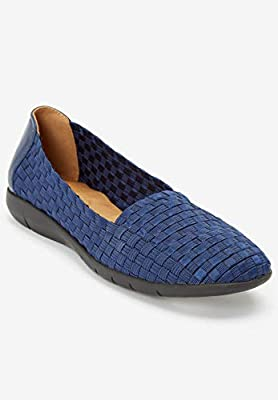 Comfortview Women's Plus Size The Bethany Flat