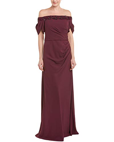 David Meister Gowns - David Meister Womens Gown, 12, Purple