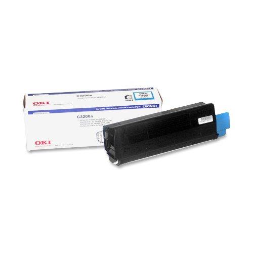 Oki Cyan Toner Cartridge, 1500 Yield (43034803) ()