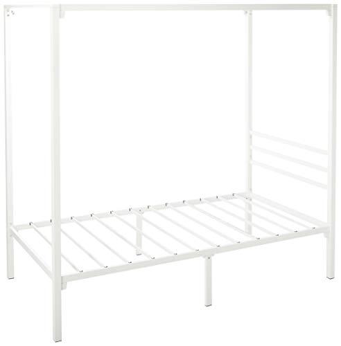 Why Should You Buy Zinus Metal Framed Canopy Four Poster Platform Bed Frame