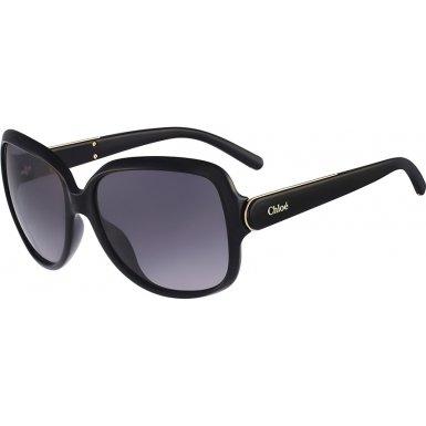 Chloe CE655S 001 Black CE655S Square Sunglasses Lens Category - Eyewear Chloe 2014