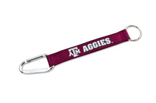 NCAA Texas A&M Aggies Carabiner Lanyard Keychain