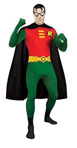 (Rubie's Men's DC Comics 2nd Skin, Robin)