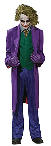 Comic Book Makeup Halloween Costume (Rubie's Inc Dark Knight The Joker Grand Heritage Costume)