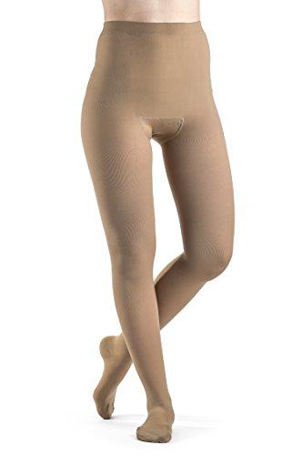 - SIGVARIS Women's Select Comfort 860 Open-Toe Pantyhose Plus Size Hose 20-30mmHg