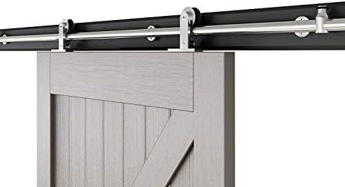Kit de montaje de puerta corredera, de la marca AiHom, de acero ...