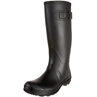 Kamik Women's Olivia Rain Boot,Black,6 M US