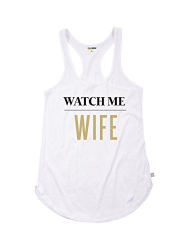 Tipsy Elves Womens Watch Me Wife Tank Top  X Large