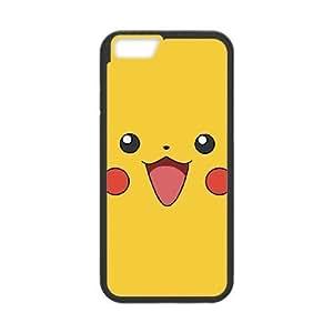 iPhone6 Plus 5.5 inch Phone Case Black Pikachu HKL239158