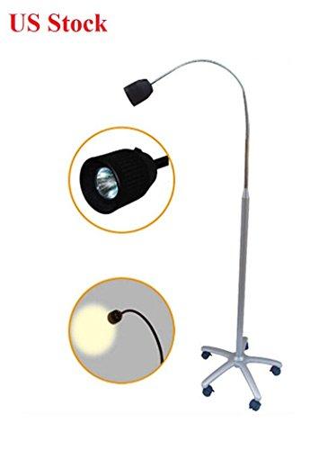 EFK-II Supply Floor Standing LED Shadowless Medical Exam Lamp Halogen Light ()