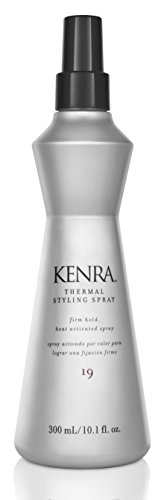 Kenra Thermal Styling Spray #19, 55% VOC, 10.1-Ounce (Best Drugstore Flat Iron Spray)