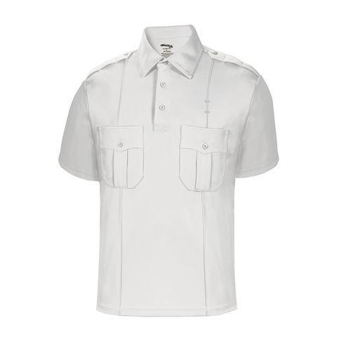 Elbeco Men's Short Sleeve Ufx Uniform Polo Shirt, Light Blue - K5103-S ()