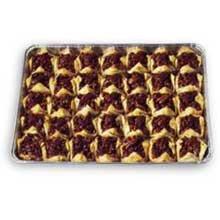 Athens Foods Pecan Blossom Baklava - Dessert -- 35 per case. by Athens Foods