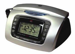 ge alarm clock radio bedroom phone electronics. Black Bedroom Furniture Sets. Home Design Ideas
