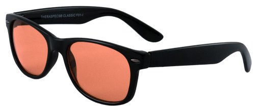 UPC 760921455098, TheraSpecs Fluorescent Light and Migraine Glasses: Classic Style Indoor Tint for Men and Women