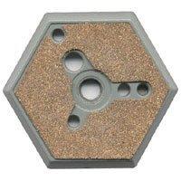 Hexagon Flush - Manfrotto 130-38 Hexagon Mounting Plate (3/8