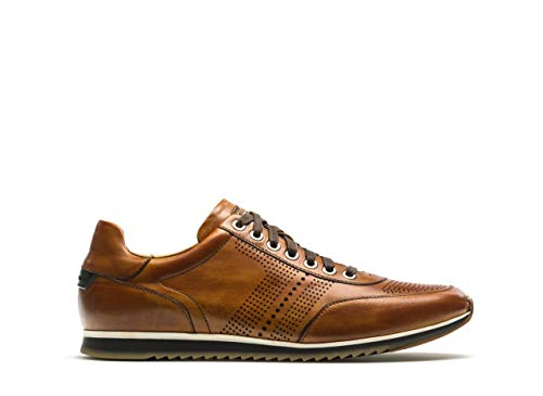 Magnanni Men's Pueblo Sneaker,Cognac,7 M US