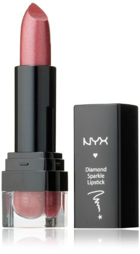 NYX Cosmetics diamant rouge à lèvres de Sparkle, Sparkling cuivre, 0,15 once