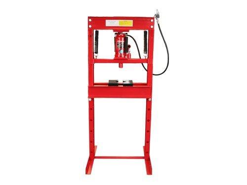 Press Hydraulic Shop 20 Ton (Dynamo DYOHT0704-KIT Air/Hydraulic Shop Press (20 Ton))