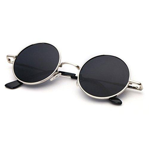 A Retro De Gafas D Circular Sol Sol Los Reflexiva Conducción Redonda De Marco Cara Redondo Gafas De Conducción De Color Hombres Conductor Gafas GAOYANG Hipster Del Personalidad IYfxCpqFww