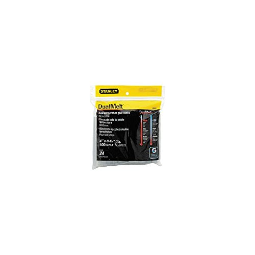 Hot Glue Stick 4'' 24pk by Stanley Tools