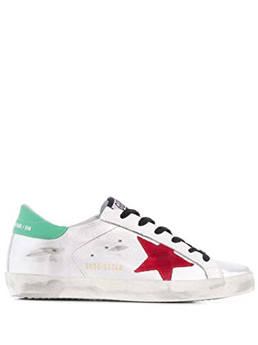 Golden Goose Luxury Fashion Womens G35WS590R61 Silver Sneakers | Fall Winter 19