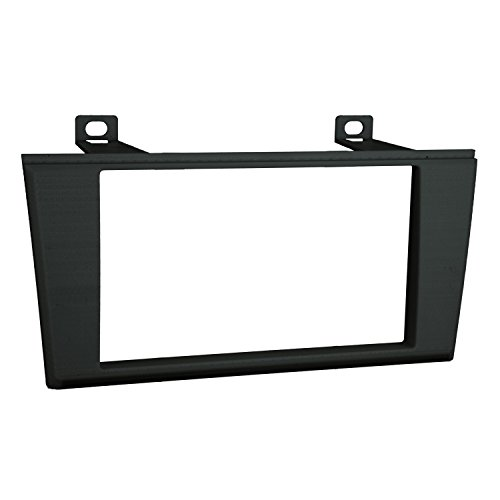 Lincoln Ls Aftermarket - Metra 95-5000B Double DIN Installation Dash Kit for 2000-2006 Lincoln LS or 2002-2005 Ford T-Bird (Black, Silver)