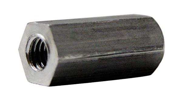 Aluminum #4-40 Screw Size Clear Iridite 4.25 Length, 0.25 OD Female Hex Standoff Pack of 1