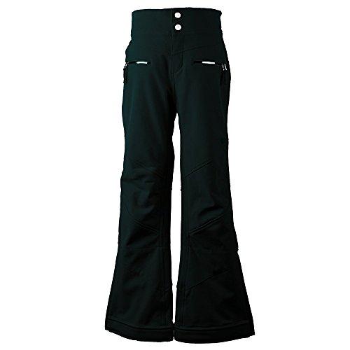 Obermeyer Kids Girl's Jolie Softshell Pants (Little Kids/Big Kids) Black Large by Obermeyer Kids