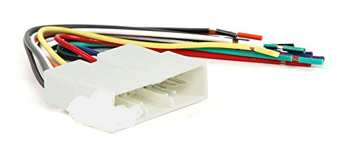310ME5O4tyL amazon com scosche ha02b power 4 speaker connector for 1986 1997 Scosche Wiring Harness Color Code at edmiracle.co