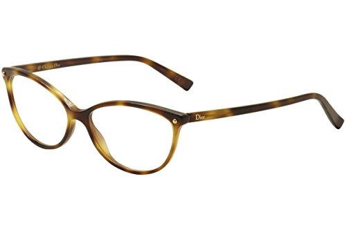 DIOR Eyeglasses 3285 005L Havana 54MM - Dior Eyeglasses Christian Cd Frame
